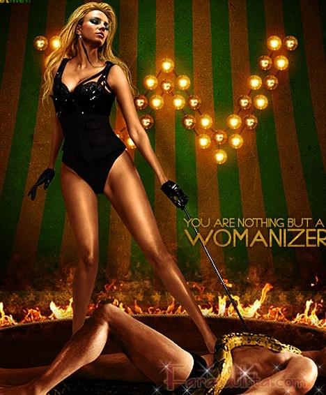 Editaron a Britney en las promo de Womanizer (Updated!)