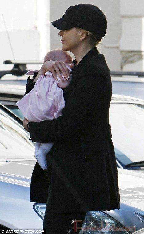 Sunday Rose la hija de Nicole Kidman es hermosa