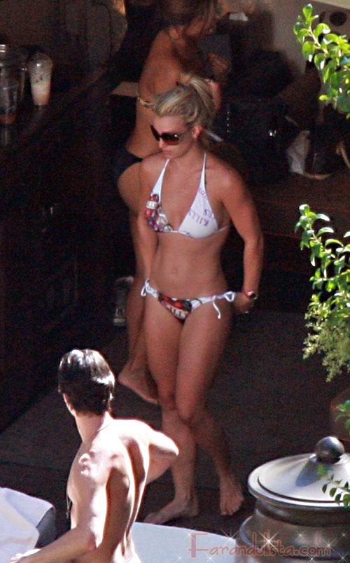 Britney se vio HOT en Bikini en Las Vegas