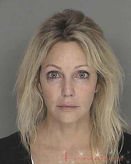 Heather Locklear arrestada por conducir bajo influencia DUI