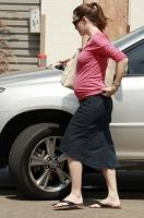 Jennifer Garner muestra su enorme pancita