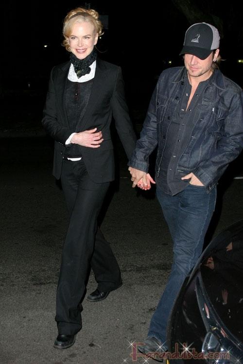 Nicole Kidman acredita su embarazo a aguas milagrosas