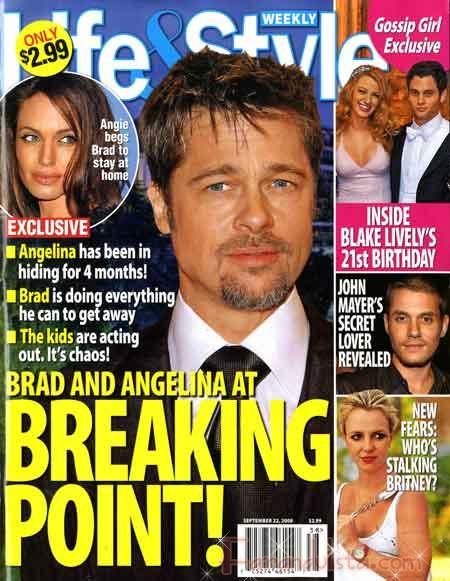 Angelina y Brad no se han separado... Duh!