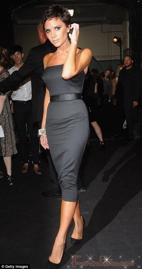 Victoria Beckham estrena coleccion y look en New York
