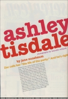 Ashley Tisdale en Seventeen magazine