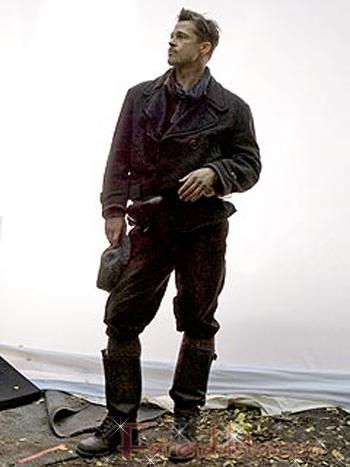 Brad Pitt como el Teniente Raine en Inglorious Basterds