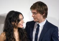 Zanessa en la premier de High School Musical 3 en España