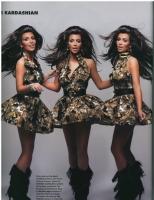 Kim Kardashian en Vegas magazine
