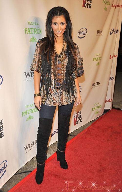 Kim Kardashian parece haber perdido peso