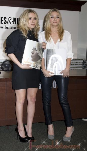 Las Olsen no tan simpaticas firmando su libro - Links!