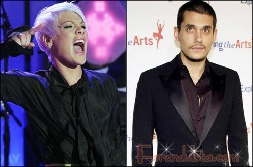 John Mayer le dijo a Pink que solo duerme con estupidas