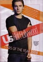 Zanessa en la fiesta US Weekly's Hot Hollywood Issue
