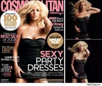 Britney aparece en la portada de Cosmopolita un tanto atrasada