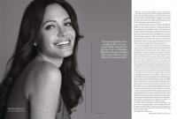 Angelina Jolie Sexy for Harpers Bazaar UK