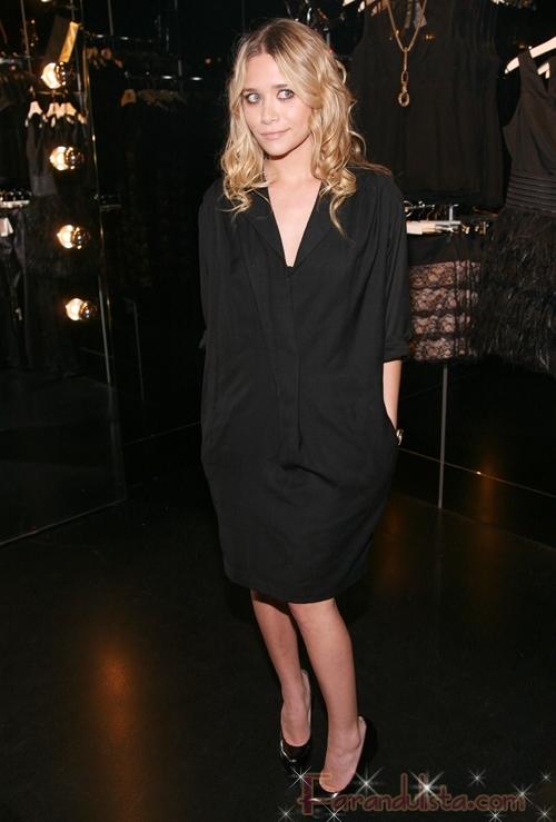 Ashley Olsen en el relanzamiento la tienda Mango en NY