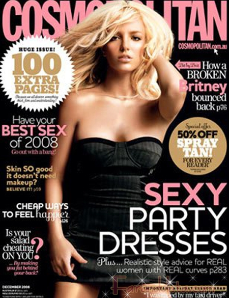 britney cosmopolitan cover