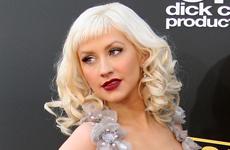 Christina Aguilera en los American Music Awards 2008