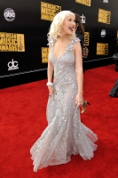 Christina Aguilera en los American Music Awards 2008