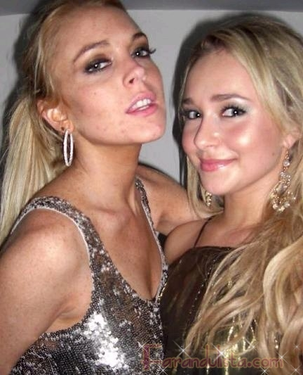Hayden Panettiere odia a Lindsay Lohan