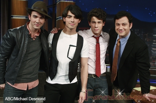 Los Jonas Brothers en Jimmy Kimmel Live