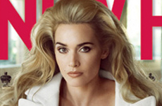 Kate Winslet se desnuda para Vanity Fair [Diciembre]