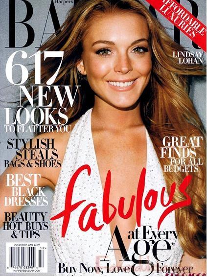 Lindsay Lohan no quiere definirse [Harper's Bazaar]