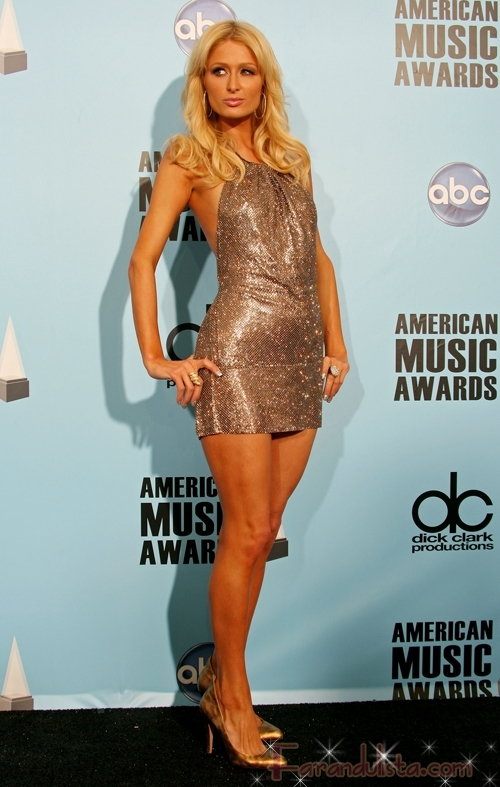 Paris Hilton en los American Music Awards 2008