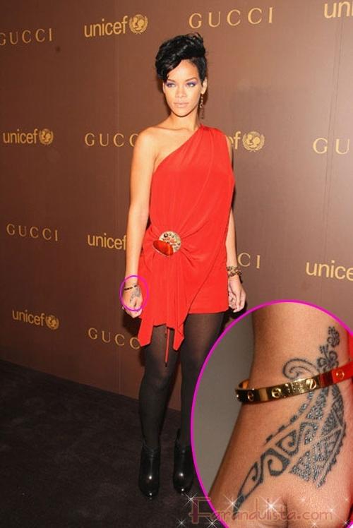 Rihanna explica su nuevo y horroroso tattoo