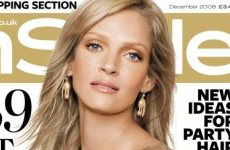 Holly Photoshop Batman! Uma Thurman en InStyle UK