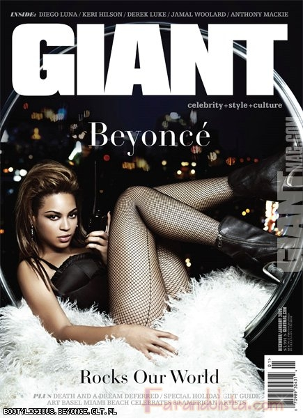 Beyonce en Giant Magazine - Bites and Gossip Links