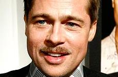 Brad Pitt quiere poner de moda el bigote - Bites & Gossip Links