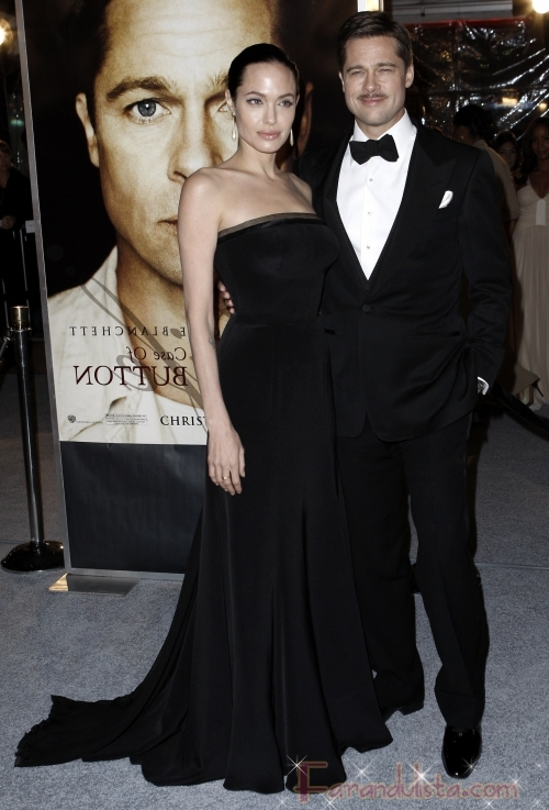 "Brangelina ""The Curious Case of Benjamin Button"" Premier L.A"