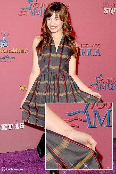 Demi Lovato no se corta ni se lastima, dice representante