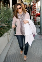 Eva Longoria paseando en Hollywood