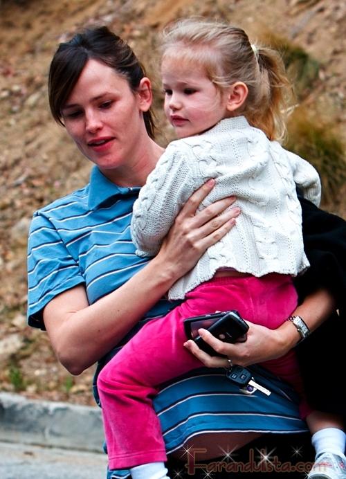 Jennifer Garner y su mini-me Violet