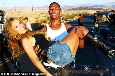 Una prueba de que Mariah podria estar embarazada - Links!