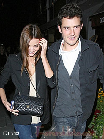 Orlando Bloom y Miranda Kerr no estan comprometidos
