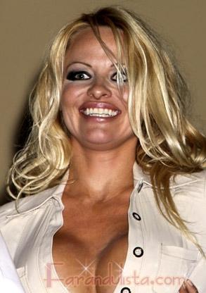 anderson de desnuda foto pamela. Pamela Anderson lucen tan fea