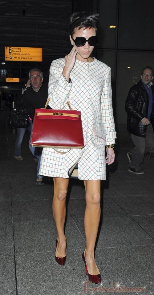 Victoria Beckham necesita una hamburguesa