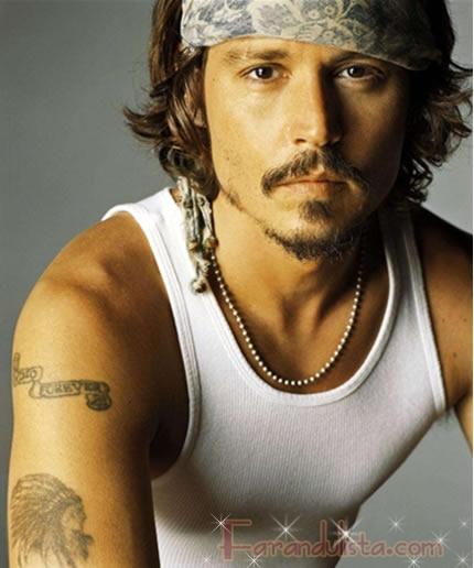 Johnny Depp se casa en Abril - Lo vieron comprando un anillo