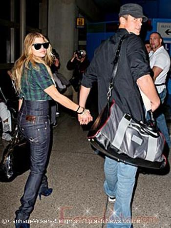 Fergie y Josh Duhamel se fueron de Luna de Miel tropical