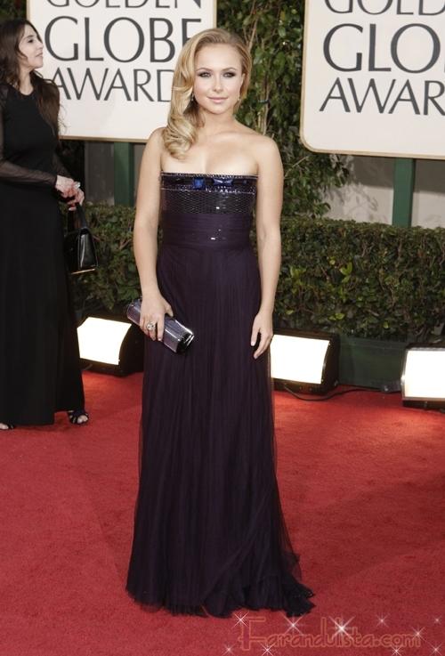 Hayden Panettiere en los Golden Globe 2009