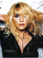 Kate Winslet con un look rebelde en Elle magazine UK