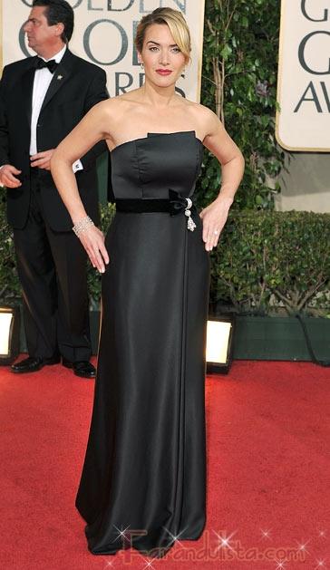 Kate Winslet triunfa en los Golden Globe 2009 - Ganadores