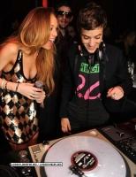 Lindsay y Samantha Ronson celebraron el 2009 en Miami