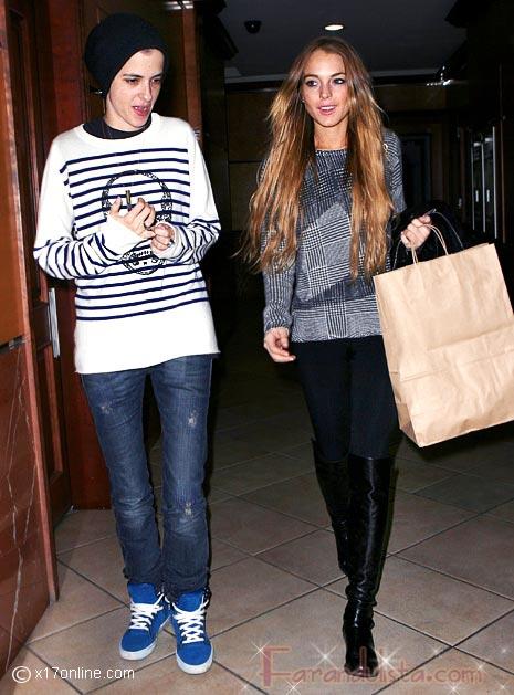 Lindsay Lohan y Samantha Ronson se reconciliaron