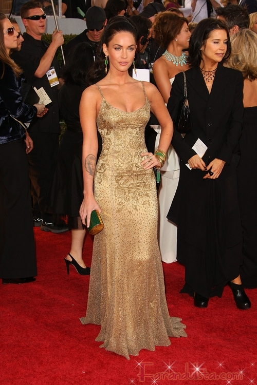 Megan Fox en los Golden Globe 2009
