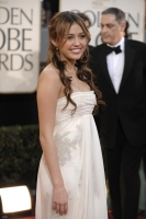 Miley Cyrus en Los Golden Globe 2009