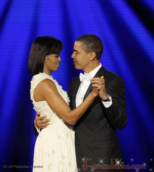 El Primer Baile de Obama y su Sra. Esposa