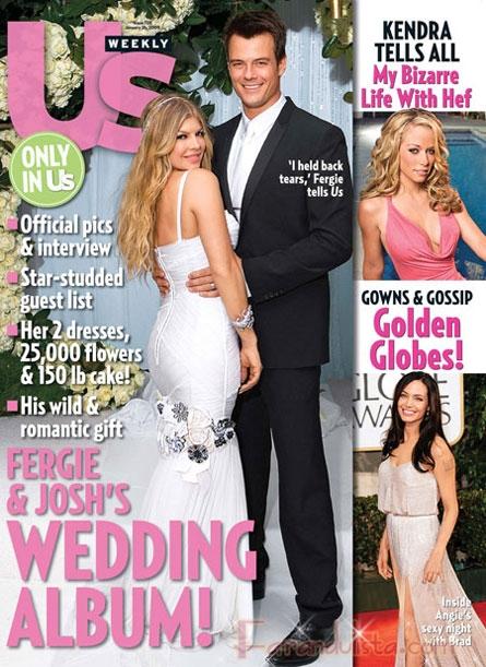 Fotos de la Boda de Fergie y Josh Duhamel [Usmagazine]